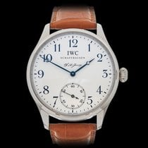 IWC Portuguese FA Jones Stainless Steel Gents IW544203 - W4326