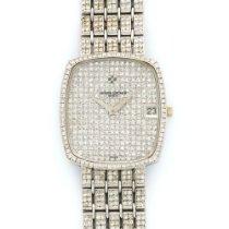 Vacheron Constantin White Gold Full Diamond Watch