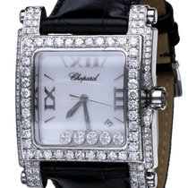 Σοπάρ (Chopard) Happy Sport Square Steel Flying Diamonds (36 x...