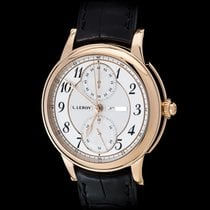 L.Leroy Men's Watch Osmior 18K Rose Gold Chronograph