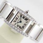 Cartier TANKISSIME 18K WHITE GOLD & DIAMONDS
