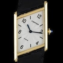 Cartier 18K Yellow Gold Limited Edition Asymmetrical Gents...