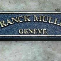 Franck Muller vintage tag plastic blu