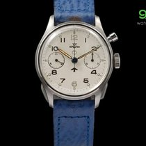 Vintage Lemania Military Watch: Chronograph Monopulsante