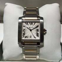 Cartier Tank Francaise Gold Steel Large Size