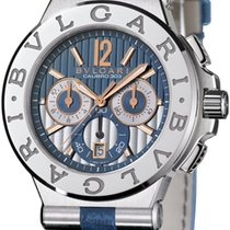Bulgari Diagono Chronograph Calibre 303 42mm dg42c3swgldch