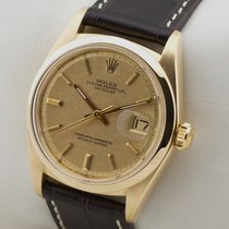 Rolex DATEJUST 1600 18K GOLD GELBGOLD HERRENUHR