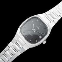 Omega 1980 Seamaster Classic Vintage Mens Gray Dial Quartz Watch,