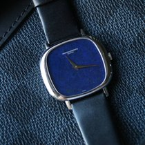 Vacheron Constantin White Gold Lapis Lazuli Ultra Thin