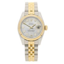 Rolex Datejust 179173 - Steel & Yellow Gold - Diamond Dial...
