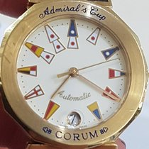 Corum Admirals Cup Gold 34 mm Full Set