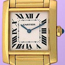 """Cartier """"Tank Francaise""""."""