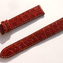 Zenith Croco Band Strap Brown 18 Mm 72/113 New Z18-24