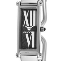 Gucci 1500 L Stainless Steel Womens Fashion Bangle Watch YA015545