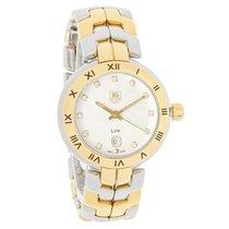 TAG Heuer Link Ladies Diamond Two Tone Quartz Watch WAT1450.BB...