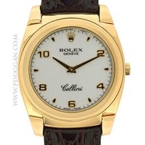 Rolex 18k rose gold Cellini
