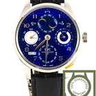 IWC Portuguese Perpetual Calendar Double Moon white gold QP NEW