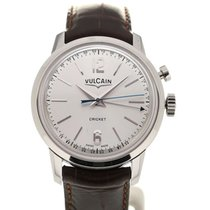 Vulcain 50s Presidents'Watch 39 Silver-toned Dial