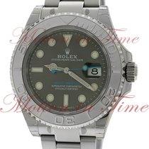 Rolex Yacht-Master 40mm, Dark Rhodium Dial, Platinum Bezel -...