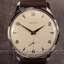 Zenith Classic Xl 38mm Vintage Steel Honeycomb Dial Cal. 126