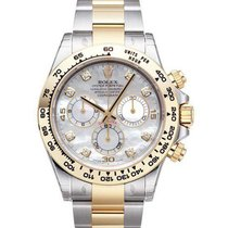 Rolex Daytona white MOP diamonds