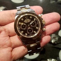 Rolex 116503 Black Dial with Diamonds Cosmograph Daytona 40mm