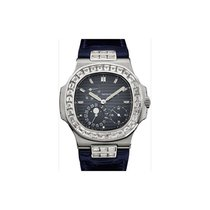 Patek Philippe 5724G-001 Nautilus 40mm Black-Blue Baguette...