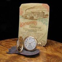 Longines 14kt 585 Gold Savonnette Taschenuhr
