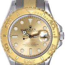 Rolex Ladies Rolex Yacht - Master Watch 169623 Champagne Dial