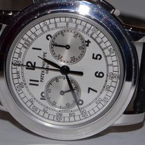 Patek Philippe Classic Chronograph 18K Solid White Gold