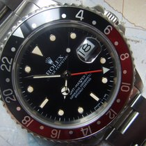 "Rolex 1984  RARE GMT ""NO DATE DIAL "" FAT LADY Coke..."