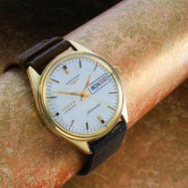 Longines Admiral 18 ct Gold Day / Date display
