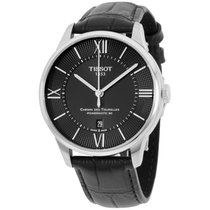 Tissot Chemin Des Tourelles Men's Automatic Black Dial...