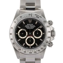 Rolex Daytona Mov. Zenith T Serial 40mm In Acciaio Ref. 16520