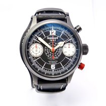 Hanhart ioneer Stealth 1882 Chronograph Flyback limited