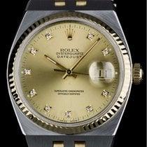 Rolex Oysterquartz  Datejust Factory Diamond Dial 17013 Very...