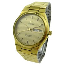 Omega Seamaster Automatic Vintage Gold Plate
