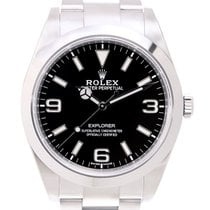 Rolex Explorer Stainless Steel Black Automatic 214270