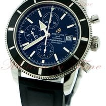 Breitling Superocean Heritage Chronograph, Black Dial -...