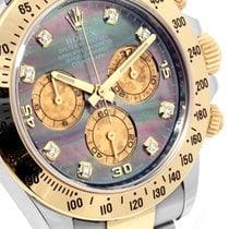 롤렉스 (Rolex) Rolex TT Daytona Factory Tahitian MOP Diamond Dial...