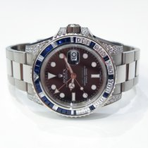 Rolex GMT Master II 116759 SA sapphires & diamonds
