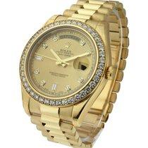 Rolex Unworn 218348 Day-Date II President in Yellow Gold -...
