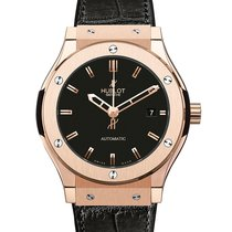 Hublot Classic Fusion  18K Red Gold Mens WATCH 511.OX.1180.RX