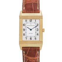 Jaeger-LeCoultre Reverso Classic 18K Yellow Gold Ladies Watch...
