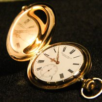 IWC 14K Gold Savonette Herren Taschenuhr - pocket watch