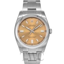 Rolex Oyster Perpetual White grape/Steel 36mm - 116000