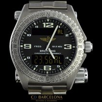 Breitling E76321 Emergency Box & Papers Like New