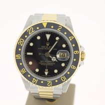 Rolex GMT-Master II Steel/Gold BlackDial (BOXonly2000) 40mm MINT