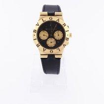 Bulgari -  Diagono chronograph, 35 mm, yellow gold - ch35g - Men