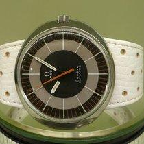 Omega vintage 1970 dynamic auto date white strap ref 136.033...